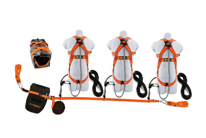 20m Webbing Restraint Lifeline Kit (3 Person)